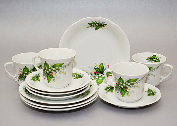 Набор столовой посуды Ландыш 12 части
