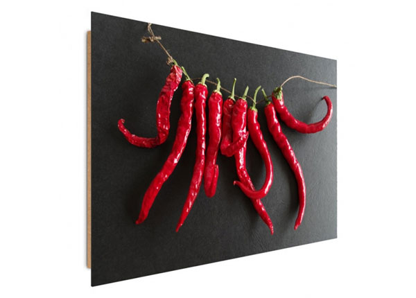 Seinätaulu Chili Peppers 60x80 cm