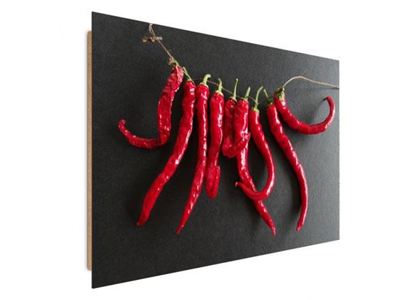 Seinätaulu Chili Peppers 80x120 cm