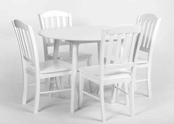 Söögitoakomplekt Andria + 4 tooli Monaco GO-165090
