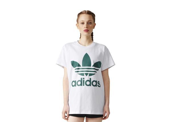 Naisten vapaa-ajan paita Adidas Originals Big Trefoil Tee W