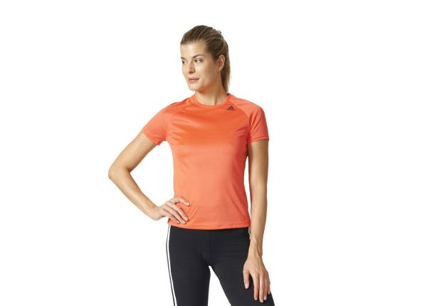 Женская тренировочная футболка adidas D2M Tee Lose W BK2714