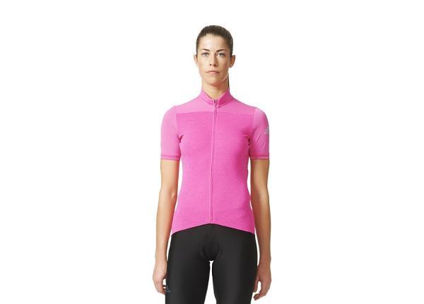 Женская рубашка для езды на велосипеде Adidas Supernova Climachill Jersey W