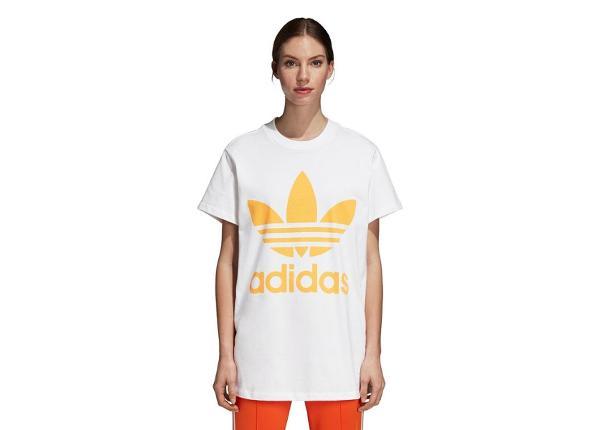 Женская повседневная футболка Adidas Originals Trefoil W