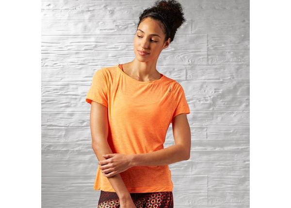 Женская футболка Reebok Work Out Ready Slub Textured Tee W AJ3422