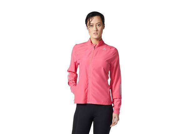 Naisten juoksutakki Adidas Response Wind Jacket W