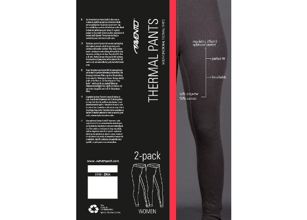 Женские компрессионные штаны 2-пары Avento
