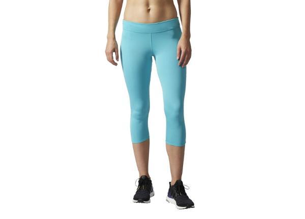 Naisten juoksutrikoot Adidas Response Tights 3/4 W