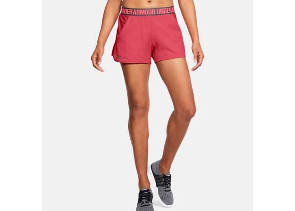 Naisten urheilushortsit Under Armour Pla Up Short 2.0 Novelt 1305421-714