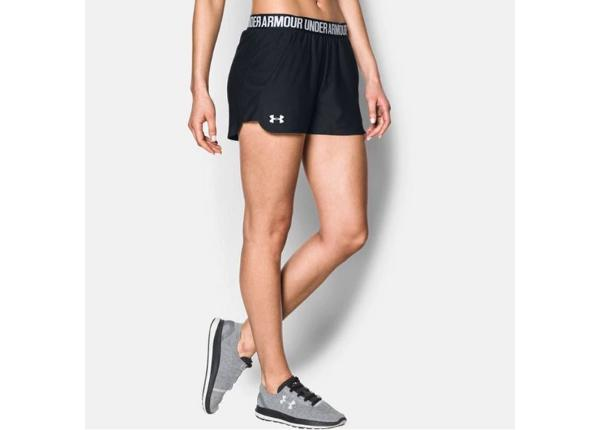 Naisten urheilushortsit Under Armour Women's Play Up Short W 1292231-002