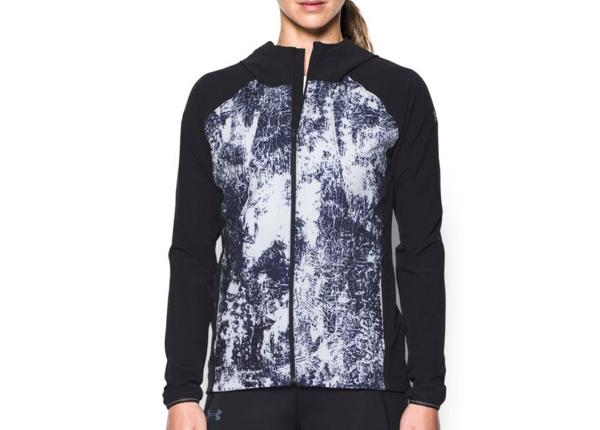 Naisten juoksutakki Under Armour Out Run The Storm Printed W 1304715-001
