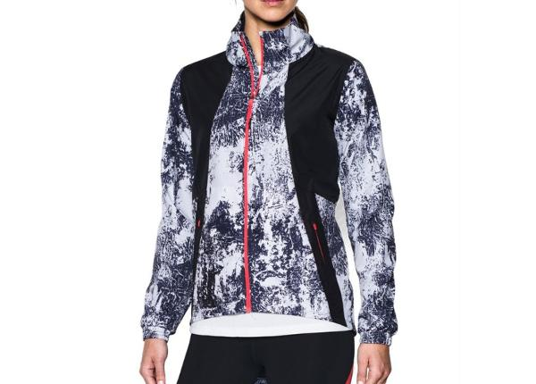 Naisten juoksutakki Under Armour Intl Printed Run W 1300119-001