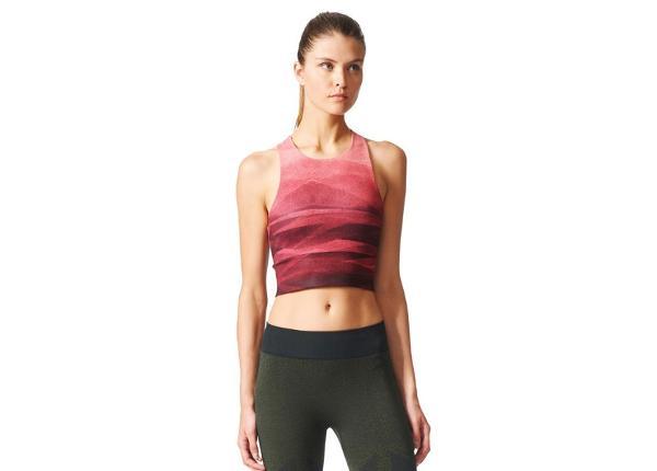 Женская спортивная футболка Adidas Crop Graph W