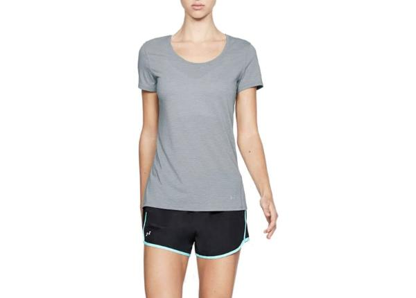 Женская футболка для бега Under Armour Streaker Shortsleeve W 1271517-036
