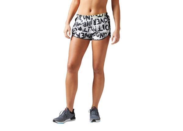 Naiste lühikesed jooksupüksid Reebok Essentails Printed W B47115