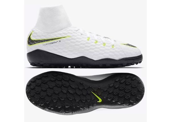 Laste jalgpallijalatsid Nike Hypervenom PhantomX 3 Academy DF TF Jr AH7293-107