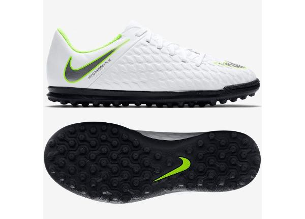 Laste jalgpallijalatsid Nike Hypervenom Phantomx 3 Club TF Jr AJ3790-107