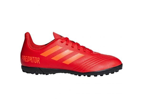 Laste kunstmuru jalgpallijalatsid Adidas Predator 19.4 TF Jr