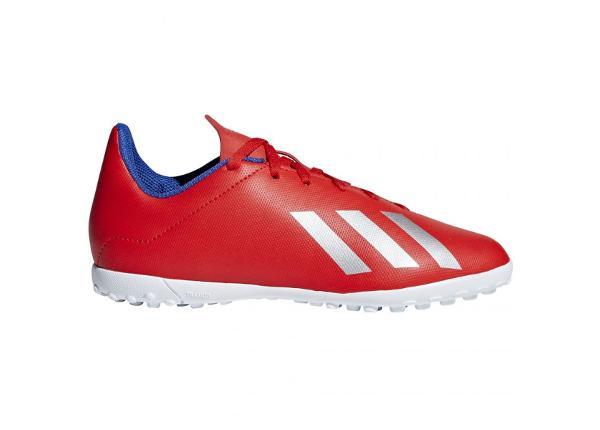 Laste kunstmuru jalgpallijalatsid Adidas X 18.4 TF Jr