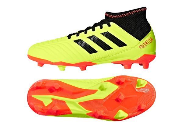 Laste jalgpallijalatsid Adidas Preadtor 18.3 FG Jr