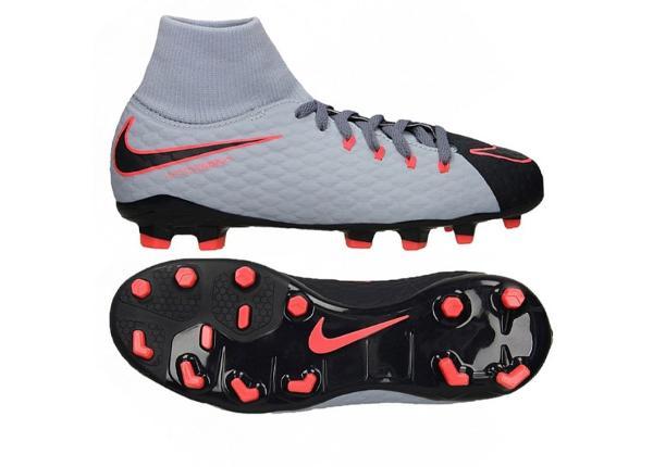 Laste jalgpallijalatsid Nike Hypervenom Phelon 3 DF FG Jr
