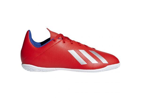 Laste saali jalgpallijalatsid Adidas X 18.4 IN Jr