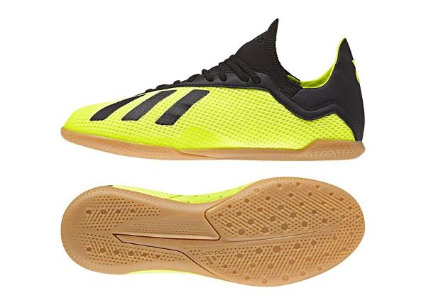 Laste saali jalgpallijalatsid Adidas X Tango 18.3 IN Jr