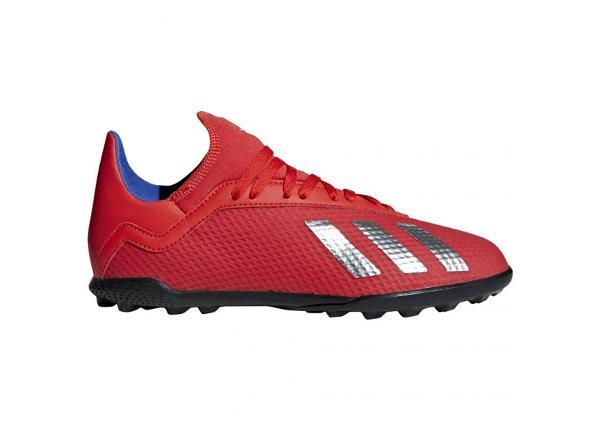 Laste kunstmuru jalgpallijalatsid Adidas X 18.3 TF Jr