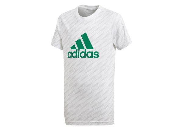 Lasten t-paita Adidas YB Logo Tee Jr