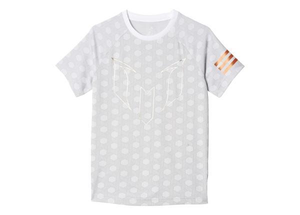 Laste vabaajasärk Adidas YB Messi Printed Tee Jr