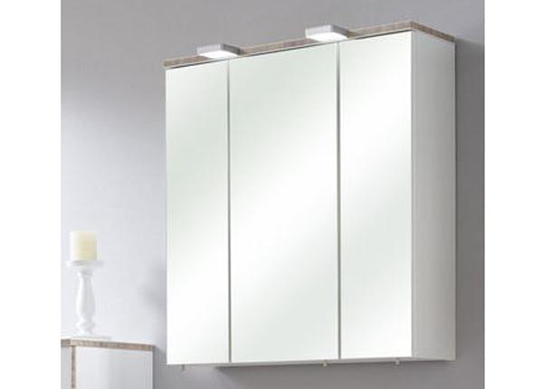 Зеркальный шкаф с LED-освещением Burgas 65cm