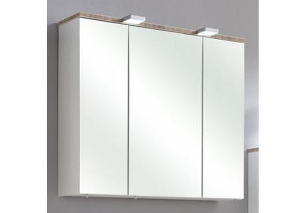 Зеркальный шкаф с LED-освещением Burgas 80cm