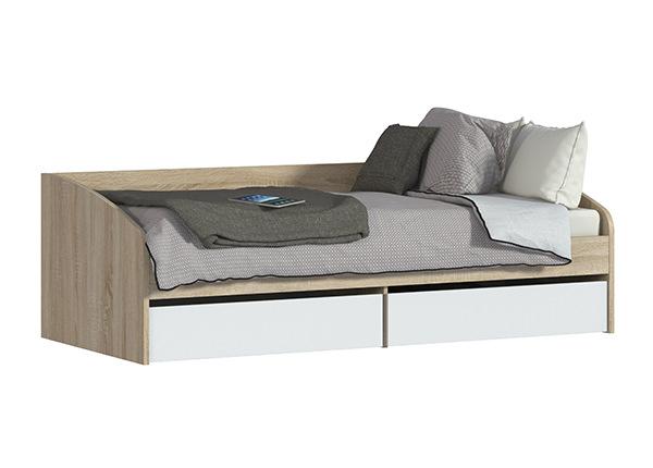 Pesukastiga voodi Mambo 90x200 cm