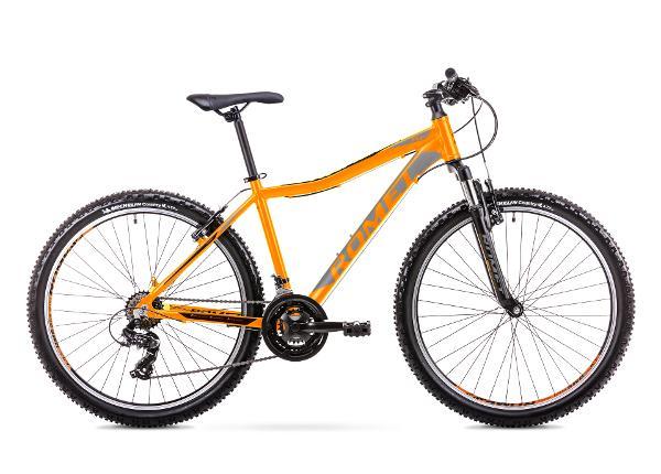 Nuorten maastopyörä 15 S Rower ROMET RAMBLER R6.1 JR oranssi
