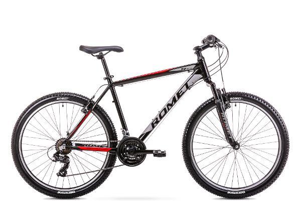 Miesten maastopyörä 14 S Rower ROMET RAMBLER R6.0 musta-punainen