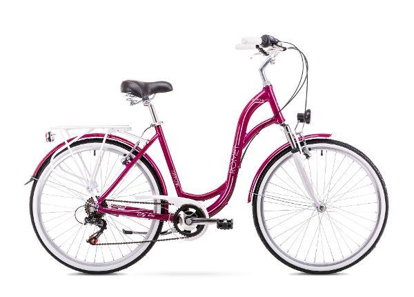 Naisten kaupunkipyörä 19 L Rower ROMET SYMFONIA 1.0
