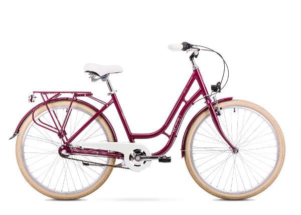 Naisten kaupunkipyörä 18 M Rower ROMET TURING 3S