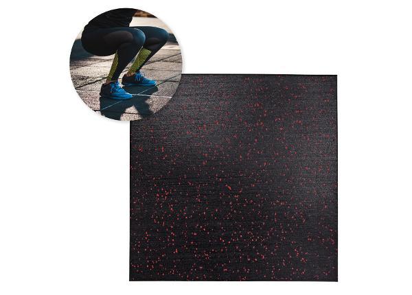 Trenažööride põrandakaitse jõusaali 1,5 cm inSPORTline