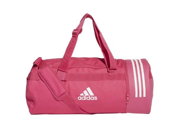 Urheilukassi adidas Convertible 3 Stripes Duffel Bag M