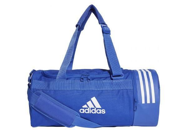 Urheilukassi Adidas Convertible 3 Stripes Duffel Bag S