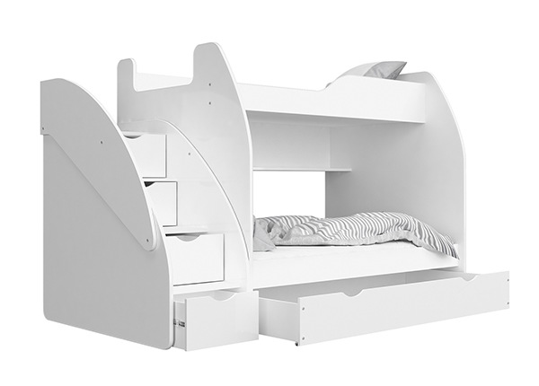 Двухъярусная кровать + матрасы 90/120x200 cm TF-168794