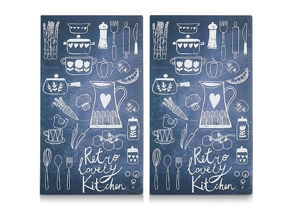 Räiskesuoja/liesisuoja Lovely Kitchen 52x30 cm 2 kpl
