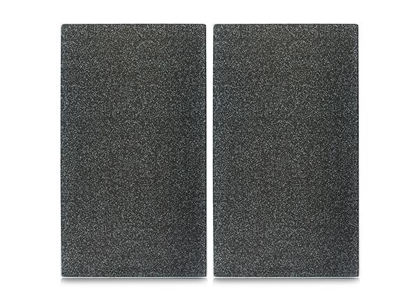 Räiskesuoja/liesisuoja Graniitti 52x30 cm 2 kpl