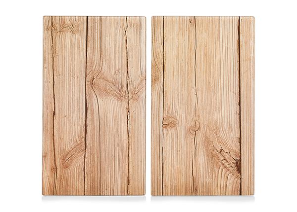 Räiskesuoja/liesisuoja Wood 52x30 cm 2 kpl