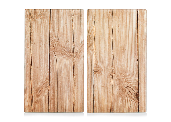 Räiskesuoja/liesisuoja Wood 52x30 cm 2 kpl GB-168990