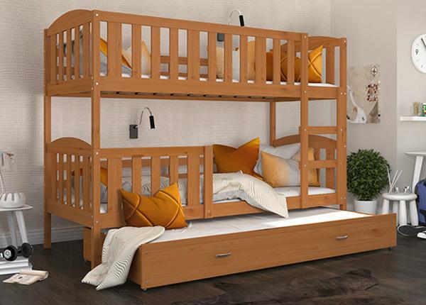 3-местная двухъярусная кровать 80x190 cm TF-169475