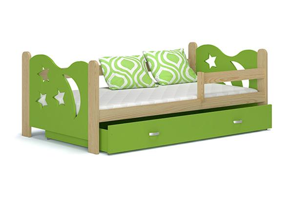 Детская кровать с ящиком + матрас