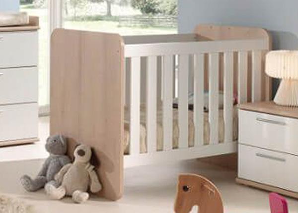 Детская кроватка Delia 60x120 cm (изменяемая) AQ-170071
