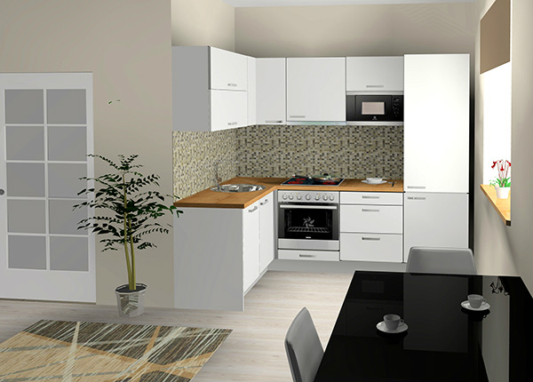 Baltest кухня Lenna 171,6 x 243 cm