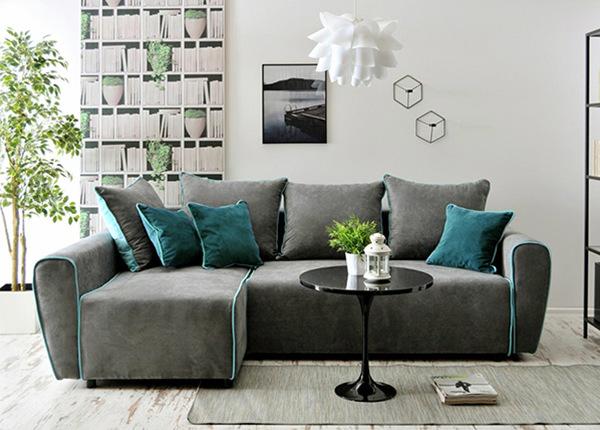Угловой диван-кровать с ящиком